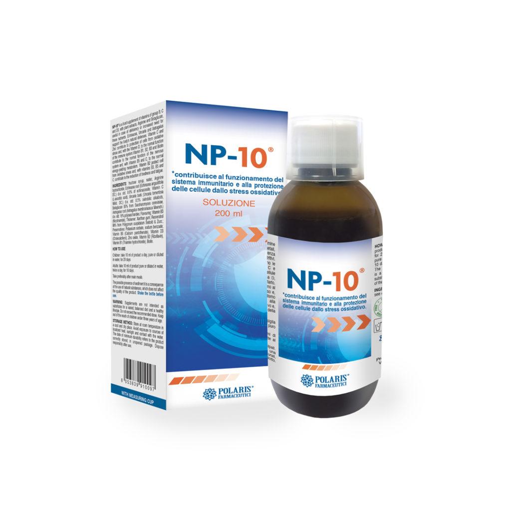 np-10 protezione cellule stress ossidativo