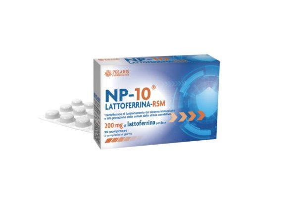 NP 10 lattoferrina compresse